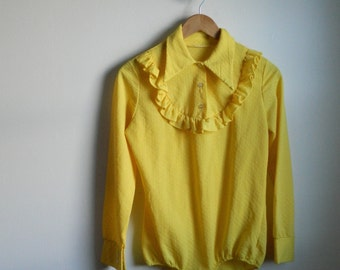 Vintage Yellow Bodysuit