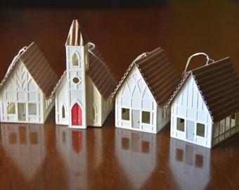 Church/Chapel Christmas Ornament