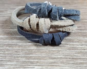 Neutral Colored Leather Bracelet,Boys bracelet,  adult bracelet,toddler bracelet,baby bracelet,baby boy bracelet, boy jewelry, girl jewelery