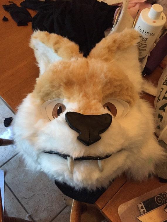 how to make a feline fursuit head