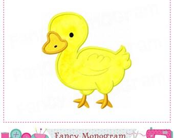 Duck applique,Duck embroidery,Duck design.-03