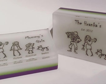 Personalized Family Soap