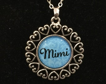 Mimi Open Heart Necklace With Chain