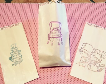 "custom bags for ""confettata"""