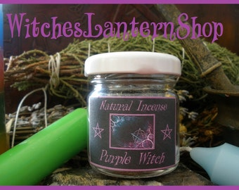 """Natural Incense """"Purple Witch"""""""