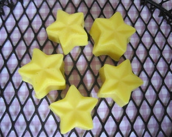 Star soaps for party favors (sets 60, 80, 100)