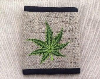 Eco Friendly Pure Hemp THC Free Wallet