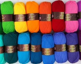Rainbow Yarn Pack