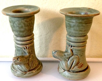 Jade Candle Holders Etsy