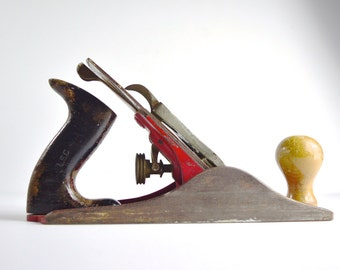 Stanley Acorn No 4 Smoothing Plane Vintage Plane Wood Working Tool Carpenters Tool