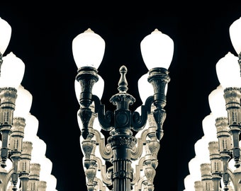 LACMA Light Posts