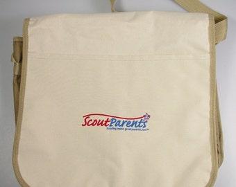Scout Parents cross body Nylon Messenger Bag Troop Leader Bag Boy Scouts of America prop