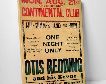 Otis Redding Gallery Wrapped Canvas Print