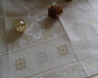 "kitchen christamas towel ""angels"""