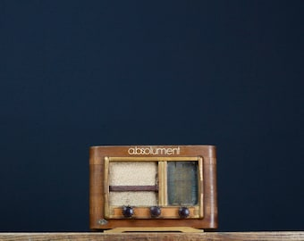 "Bluetooth 4.0 - 1951 - Vintage radio - A.BSOLUMENT ""CPM"""