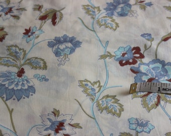 Cotton Percale Fabric by the Yard, Cotton Fabric, Wide Goods Fabric by the Yard, Cotton Yardage