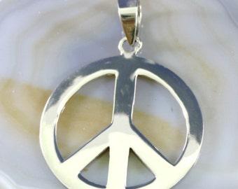 Peace, Pendant, Silver  - 1470