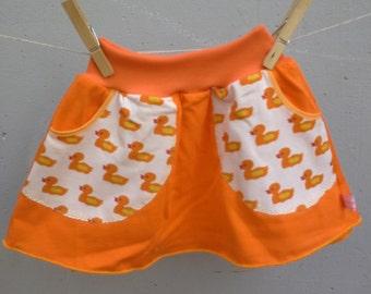jersey skirt size 2