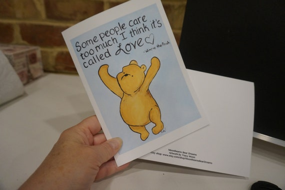 Miss you card i love you card classic winnie the pooh greeting like this item m4hsunfo
