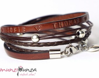 Leather Bracelet name article 89