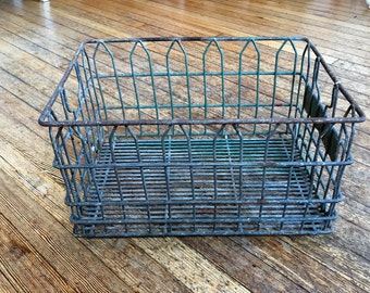 Vintage Sealtest Milk Crate