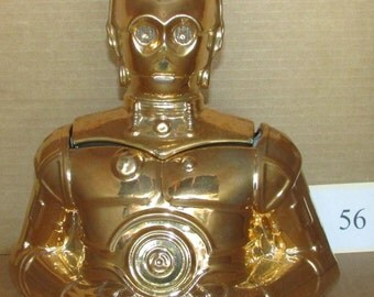 Handcrafted  20th Century Fox C3PO Cookie Jar w Orig Box
