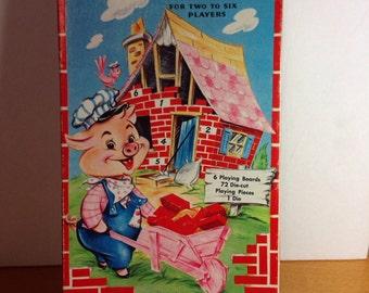 BRICKO! A Preschool Game - 1959 Saalfield Co.