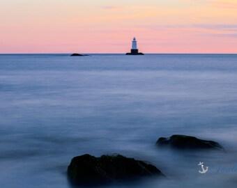 Limited Edition ~ Sakonnet Point Lighthouse ~ Little Compton, Rhode Island, Fine Art Canvas, Artwork, New England, Coastal, Fine Photography