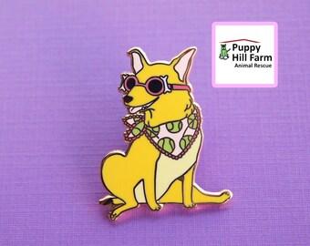 CHARITY ITEM - Fancy Frida Enamel Pin
