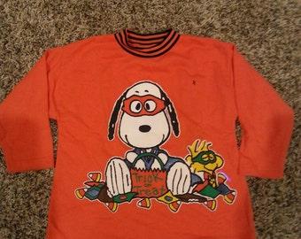 Children's Vintage Snoopy Halloween Sweatshirt