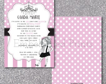Eloise Birthday Invitation