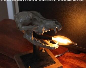 Dragon Skull lamp