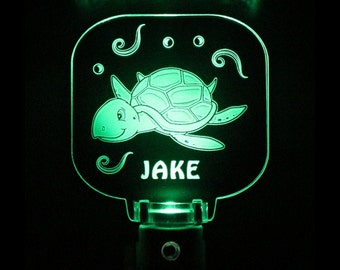 Sea Turtle Night Light Personalized