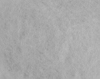 Carded Maori Wool, Cloud, 50 grams (1.75 oz)