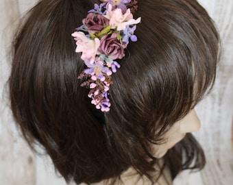 Headband - Rose garden 2