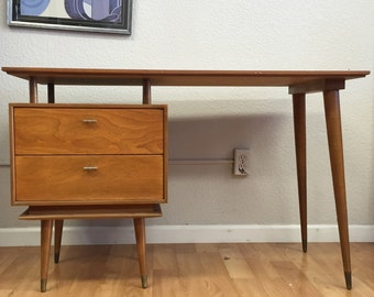 Mid-Century Modern Floating Desk SOLD