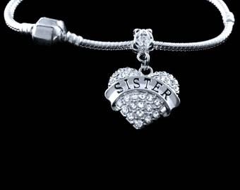 Sister bracelet Sister charm Sister gift Sister jewelry Sisters bracelet Sisters charm Sisters gift Sisters jewelry