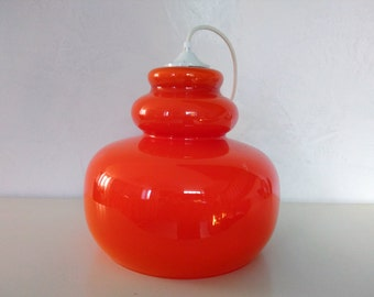 Suspension Opalineorange 70's - French design