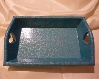 Decorative Tray Decoupage/ decopatch
