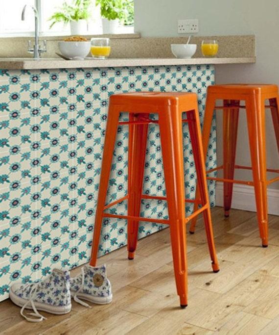 stickers carrelage pour coller stickers de sol autocollant. Black Bedroom Furniture Sets. Home Design Ideas