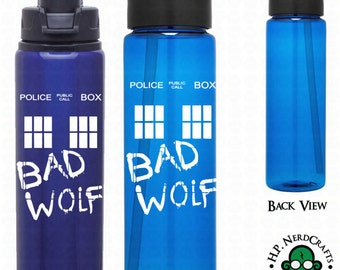 Bad Wolf Graffiti T.A.R.D.I.S. Bottle