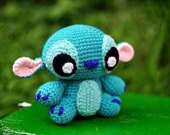 Handmade alien toy Etsy