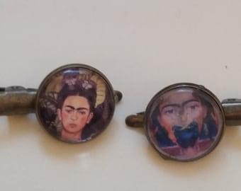 Frida Kahlo barrettes