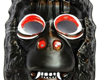 Vintage Ape Halloween Mask King Kong Jungle Beast Gorilla 1982 Y152
