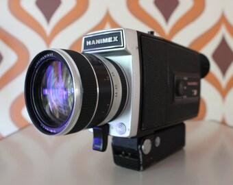 Hanimex MPF 830 Loadmatic  retro vintage super 8 camera 8mm movie cine film kodak 1970s