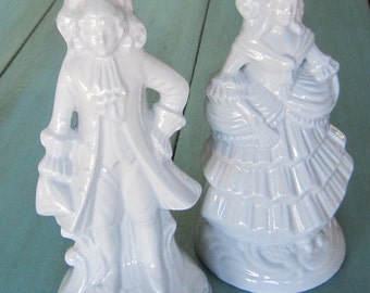 French Provincial Figural Lamps