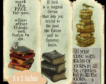 6 Reading Bookmarks