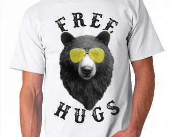 Free Bear Hugs Men's T-shirt