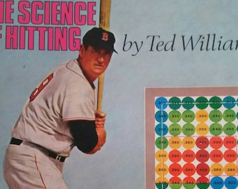 The science of hitting by Ted Williams vintage baseball book