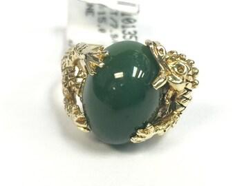 L's 14kt Dragon Ring